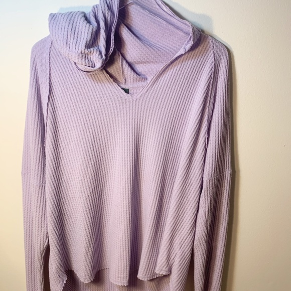 Wild Fable Lavender Lightweight Knit Hoodie XL